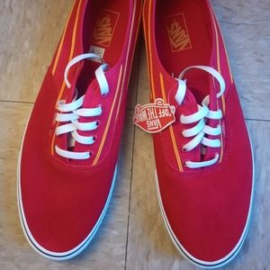 Brand New Size 15 Vans (RED)